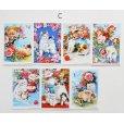 画像8: 猫と花のポストカードセット