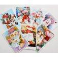 画像1: 猫と花のポストカードセット (1)