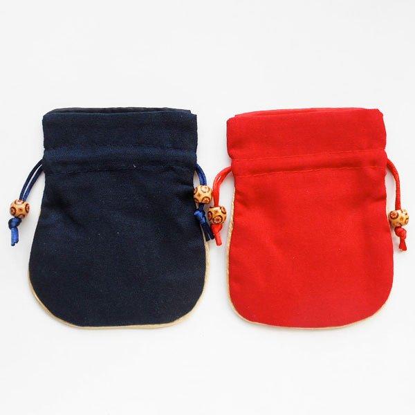 画像2: チャイナ服刺繍巾着袋