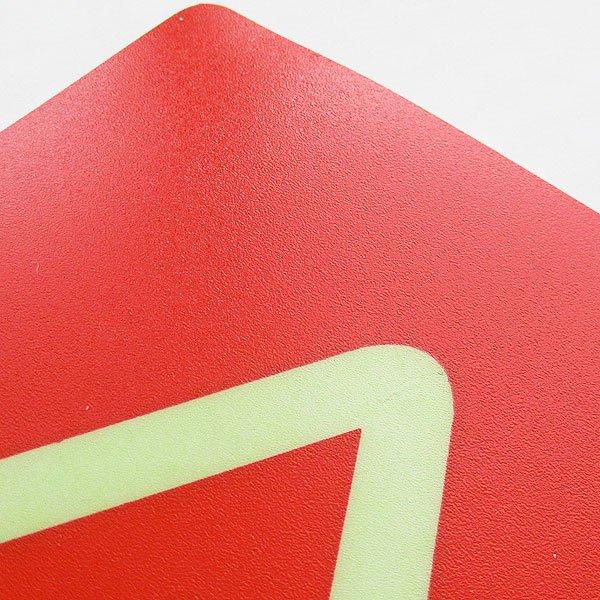画像2: 小心地滑ステッカー