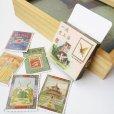 画像2: 切手風レトロミニシールセット (2)